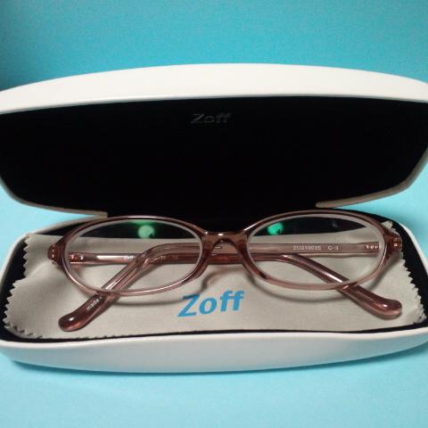 Zoffのメガネ.JPG